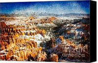 Inspiration Point Canvas Prints - Hoodoo Nation I Canvas Print by Irene Abdou