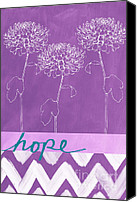 Motivation Canvas Prints - Hope Canvas Print by Linda Woods