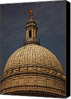 Statehouse Canvas Prints - Hope Canvas Print by Lourry Legarde