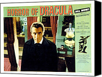 Posth Canvas Prints - Horror Of Dracula, Christopher Lee, 1958 Canvas Print by Everett