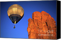 Hot Air Balloon Canvas Prints - Hot Air Balloon 4 Canvas Print by Bob Christopher