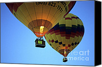 Hot Air Balloons Canvas Prints - Hot Air Balloons 17 Canvas Print by Bob Christopher