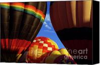 Hot Air Balloons Canvas Prints - Hot Air Balloons 19 Canvas Print by Bob Christopher