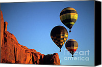 Hot Air Balloon Canvas Prints - Hot Air Balloons 5 Canvas Print by Bob Christopher