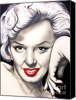 Norma Jean Canvas Prints - Hot Lips Canvas Print by Bruce Carter