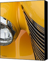 Unique Cars Canvas Prints - Hot Rod Chevy Canvas Print by Steven Milner