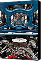 Custom Grill Canvas Prints - Hot Rod Canvas Print by Robert Harmon