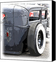 Ford Sedan Canvas Prints - Hot Rods Forever Canvas Print by Steve McKinzie