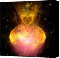 Portal Canvas Prints - Hourglass Nebula Canvas Print by Corey Ford