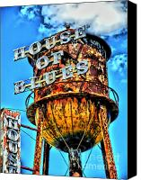 Photographers Atlanta Canvas Prints - House of Blues Orlando Canvas Print by Corky Willis Atlanta Photography
