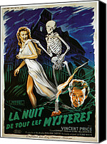 Haunted House Canvas Prints - House On Haunted Hill, Carol Ohmart Canvas Print by Everett