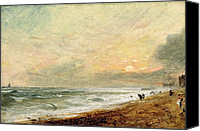 1776 Canvas Prints - Hove Beach Canvas Print by John Constable