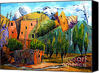 National Monument Canvas Prints - Hovenweep The Penthouse  Canvas Print by Charlie Spear