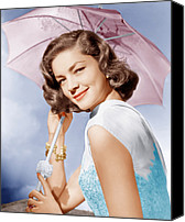 1950s Movies Canvas Prints - How To Marry A Millionaire, Lauren Canvas Print by Everett