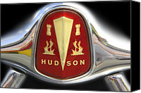 Badge Canvas Prints - Hudson Grill Ornament  Canvas Print by Mike McGlothlen