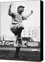 Detroit Tigers Canvas Prints - Hughie Jennings (1869-1928) Canvas Print by Granger