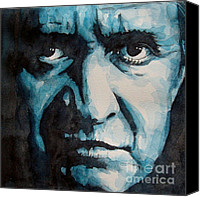 Johnny Cash Canvas Prints - Hurt Canvas Print by Paul Lovering