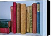 Antique Books Canvas Prints - I Dare You et al. Canvas Print by Gwyn Newcombe