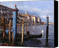Venice - Italy Canvas Prints - I Pali Blu Canvas Print by Guido Borelli