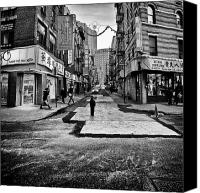 Nyc Photo Canvas Prints - I stand witness Canvas Print by John Farnan