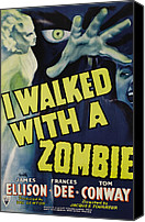 Walked Canvas Prints - I Walked With A Zombie, 1943 Canvas Print by Everett