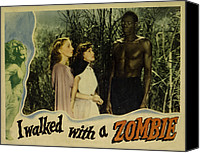 Walked Canvas Prints - I Walked With A Zombie, From Left Canvas Print by Everett