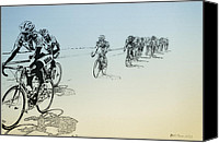 Want Canvas Prints - I Want to Ride my Bicycle Canvas Print by Bill Cannon