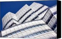 Featured Photo Canvas Prints - IAC Building Canvas Print by June Marie Sobrito