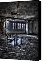 Haunted House Canvas Prints - Ice chair Canvas Print by Nathan Wright