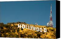Silver Screen Actress Canvas Prints - Iconic Shot - Beachwood Canyon Canvas Print by Natasha Bishop