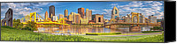Steel City Canvas Prints - Idyllic Afternoon Canvas Print by Jennifer Grover