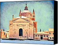 Architecture Canvas Prints - Il Redentore Canvas Print by Jeff Kolker