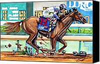 Preakness Canvas Prints - Ill Have Another Canvas Print by Dave Olsen