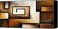 Fine Photography Art Painting Canvas Prints - Illusion of Depth 19 Canvas Print by Uma Devi