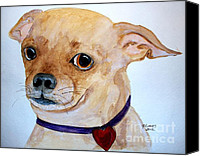 Cannine Canvas Prints - Im a Chihuahua Canvas Print by Carol Grimes