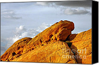 Desert Canvas Prints - Imagination runs wild - Valley of Fire Nevada Canvas Print by Christine Till - CT-Graphics
