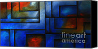 Fine Photography Art Painting Canvas Prints - Imaging Light Canvas Print by Uma Devi