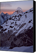 Nepal Canvas Prints - Imja Tse High Camp Canvas Print by Pal Teravagimov Photography