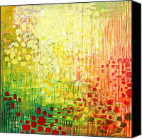 Yellow Canvas Prints - Immersed No 2 Canvas Print by Jennifer Lommers