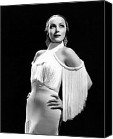 Del Rio Canvas Prints - In Caliente, Dolores Del Rio, 1935 Canvas Print by Everett