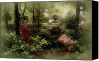 Spring Garden Art Canvas Prints - In My Dreams Canvas Print by Sandy Keeton