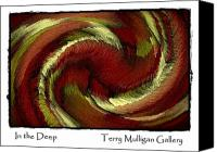 All Canvas Prints - In The Deep Canvas Print by Terry Mulligan