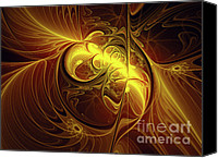 Luminous Canvas Prints - In Utero Canvas Print by Zeana Romanovna