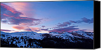 Loveland Canvas Prints - Indian Peaks Twilight Canvas Print by Adam Pender