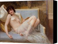 Naked Canvas Prints - Indolence Canvas Print by Guillaume Seignac