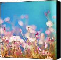 Impression Canvas Prints - Infatuation in Blue II Canvas Print by Amy Tyler