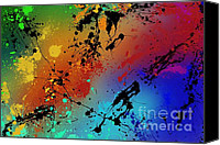 Featured Tapestries Textiles Canvas Prints - Infinite M Canvas Print by Ryan Burton