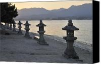 Miyajima Canvas Prints - Inland Sea Sunset Canvas Print by Andy Smy