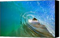 Capture Canvas Prints - Inside Wave Canvas Print by Quincy Dein - Printscapes
