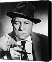 1950s Movies Canvas Prints - Inspector Maigret, Aka Maigret Tend Un Canvas Print by Everett